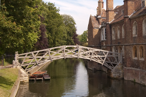 Mathematical Bridge, Queens College, Cambridge