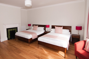 Family rooms at Warkworth House, Cambridge